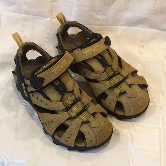 2020 goede verkoop enorme verkoop Teva Deacon Tan Hiking Water Sandals
